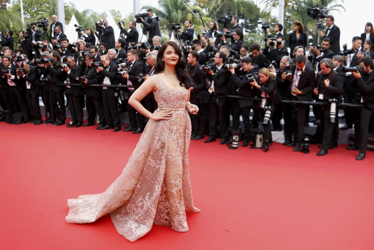 "Bollywood actress Aishwarya Rai arrives for the screening of the film ""The BFG"" (Le Bon Gros Geant) out of competition at the 69th Cannes Film Festival in Cannes"