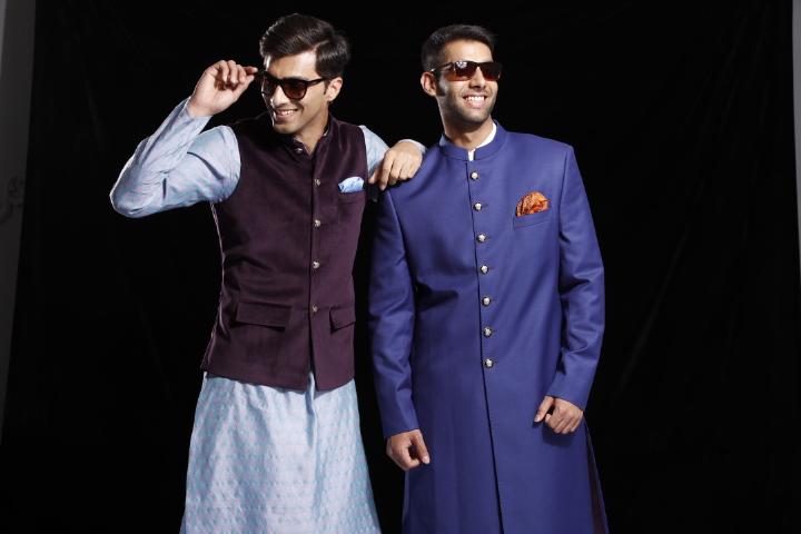 designer mens wear online, mens wear on rent, wedding outfits for men, nehru jackets online, rent sherwanis online